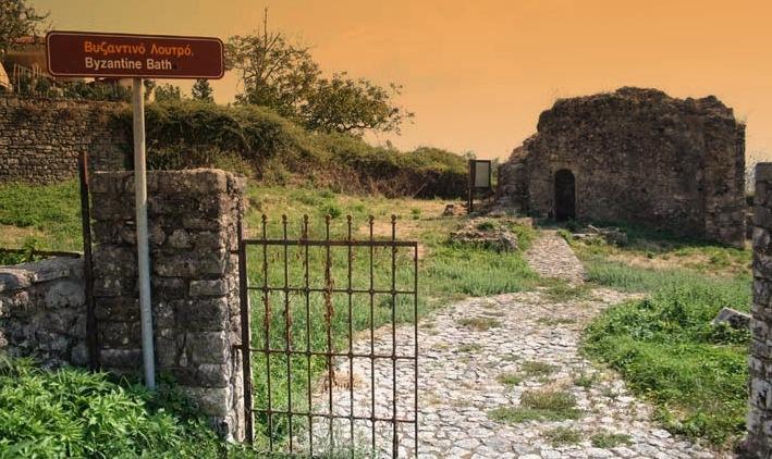 Θεσπρωτία: Στο Βυζαντινό λουτρό της Παραμυθιάς   1 από τα 6 σε όλη την χώρα.